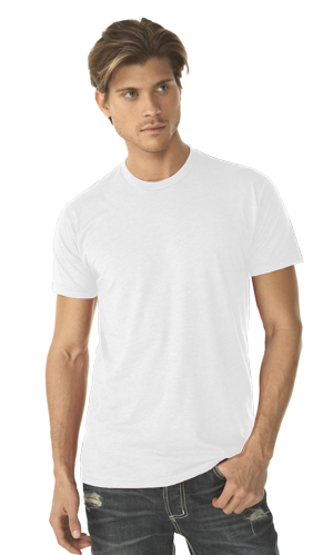 Next Level Men's 4.3 Ounce CVC Crewneck T-Shirt